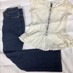 Designer DKNY Jeans size 6